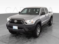 2014 Toyota Tacoma Double Cab pickup PreRunner Pickup 4D 5 ft Gray