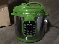Green and gray pressure cooker Bryan, 77807