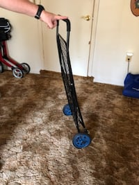 black and red push lawn mower Springfield