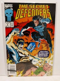 Marvel Comics The Secret Defenders 5 Brampton, L7A 2R8