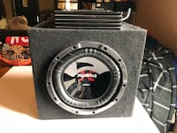 "10""Sony Sub in box and 600watt amp  Schenectady, 12303"