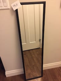 Black door mirror have 2 $5.00 each  London, N6B