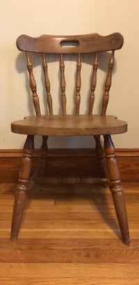 STURDY and SOLID WOOD,   small classic-style chair Boston, 02120