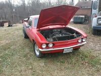 Red Chevrolet Corvair 1967 Frederick, 21701