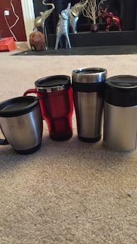 4 stainless thermal tumblers 31 km