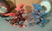 Lote dos dragones Mega Blocks serie Fire and Ice Madrid, 28027