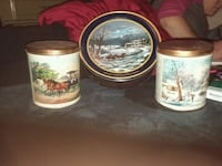Currier & ives tins Akron, 44306