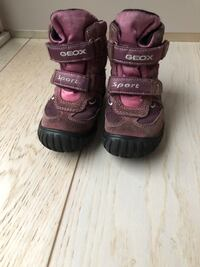 Geox toddler girl boots size 22