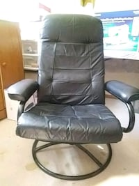 Leather chair Plano, 75093