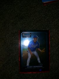 Alex gordan bowman chrome rookie Wichita, 67203