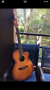 New Ibanez guitar! Joined a blues band so I got a different guitar. Barely used excellent condition. Costa Mesa, 92626