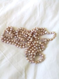Pink pearls from Cuba super long Toronto, M2R 3W5