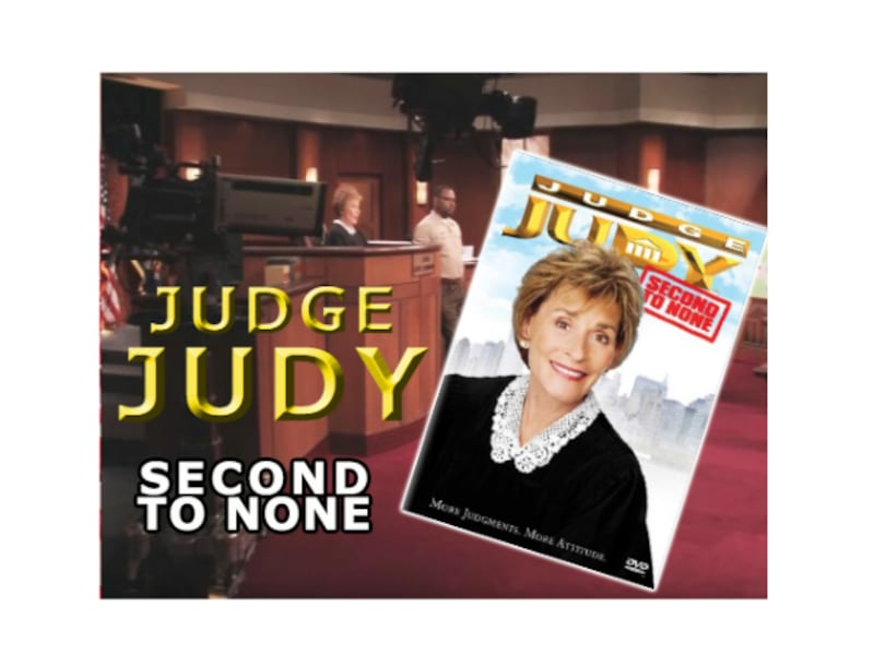 "The RARE - JUDGE JUDY ""Second To None"" Dvd ( Out of Print) ce073496-b916-4587-9efb-24da5f9dd8c6"