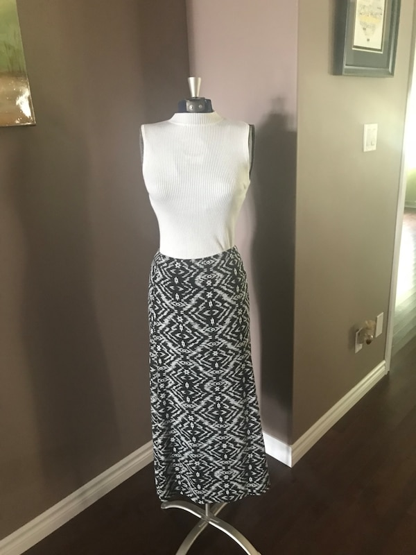 Skirt and shirt from boutique in california
