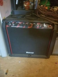 black and red bass amplifier Mount Holly, 28120