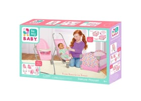 Doll furniture and accessory set