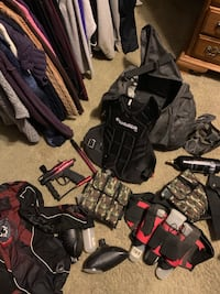 Like new Stryker paintball gun and all the extras Marcy, 13403
