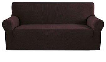 Chocolate Couch and Love Seat covers