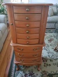 jewelry chest  19wx16dx42 1/2h Nesconset, 11767