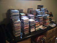 Music Cds and DVD's all genre 75% off marked price TORONTO