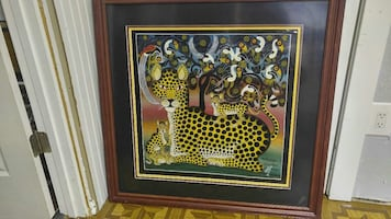 Hand Painted African Art