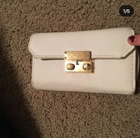 white small wallet