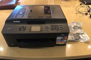 Printer with ink