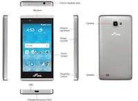 White general mobile android smartphone Lake Elsinore
