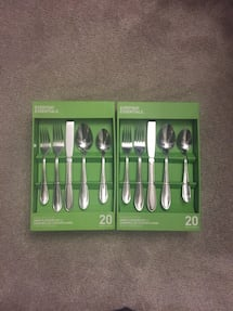 Stainless steal flatware