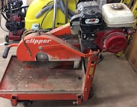 Norton clipper blocksaw BBC355GAS being sold as is for parts 801970-2  Baltimore, 21205