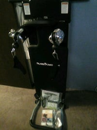 black and gray and black and gray elliptical trainer Tukwila, 98188