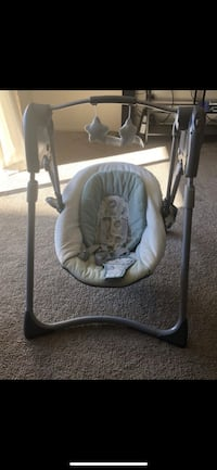 Baby's gray and white swing chair Gaithersburg, 20877