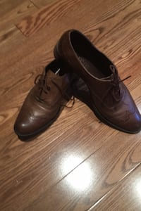 Brown leather shoes Toronto, M9P 3T8