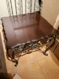 2 living room table solid wood and steal 100  Laval, H7N 2N5