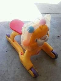 yellow and red ride on toy Santa Maria, 93454
