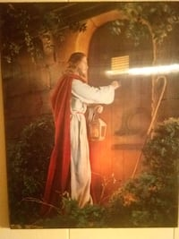 really old 3D Jesus picture Charleston, 29401
