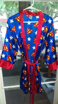 Girls Silk Superwoman Robe (Great Christmas Present)