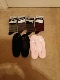New boys socks and girls ballet slippers