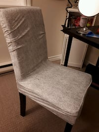 New grey and white chair cover  Halifax, B3J 3N2