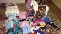 Large lot Clothing Toys for American Girl Doll Vienna, 22182