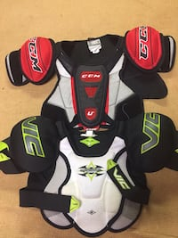 Kids Shoulder pads, shin pads, socks, skates from $20... Mississauga, L5M 1C7