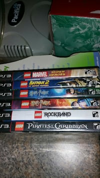 six assorted PS3 game cases Warwick, 02889