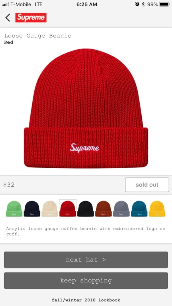 431ea28398839 Used Supreme beanie for sale in New York - letgo
