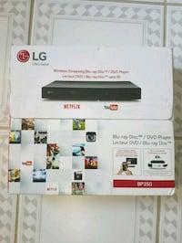 LG BP350 Blu-ray Disc Player   Toronto, M1B 1M3