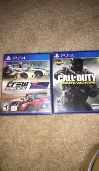 Two sony ps4 game cases Fort Mill, 29715
