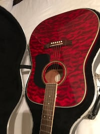 red and black classical guitar Canton, 30115