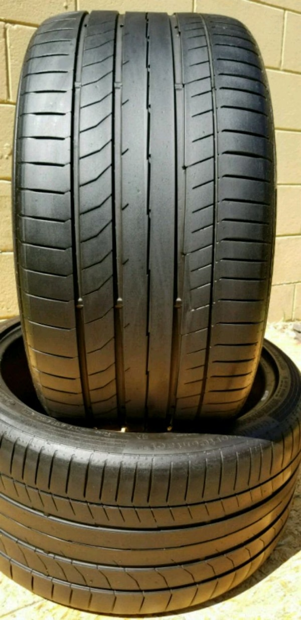 Used Tires Tampa >> 2 Used Tires 315 35 20 Continental Ssr