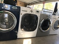 white front-load clothes washer and dryer set Oxnard, 93033