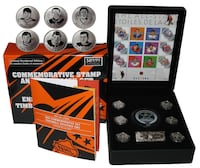 Brand new stamp and coin set $89.99 list NHL all star history  Hamilton, L8M 2B4