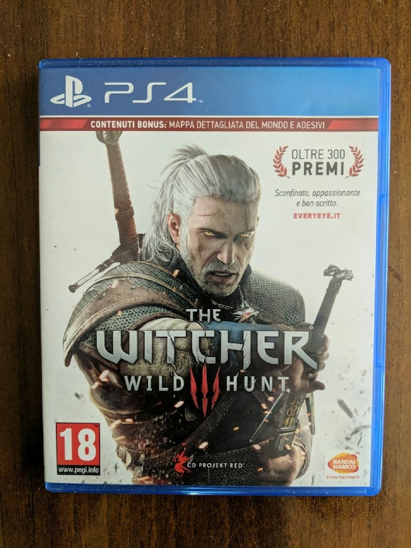 The Witcher - Wild Hunt per PS4